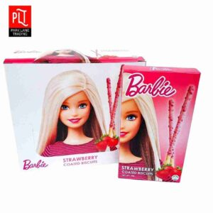 Barbie Coated Biscuits 36g Strawberry
