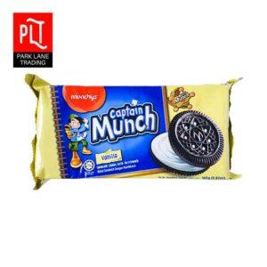 Captain Munch 165g Vanilla