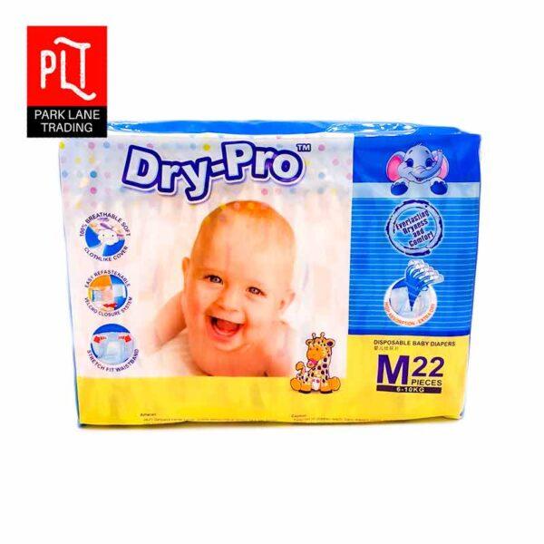 Dry Pro Baby Diaper M Size