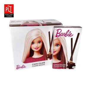barbie coated biscuits chocolate
