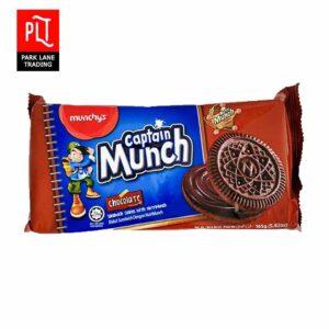 captain munch 165g choc
