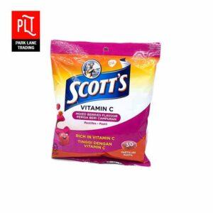 Scotts Vitamin C Pastilles Strawberry