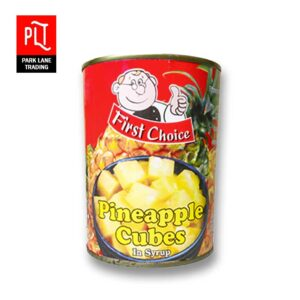 First Choice Pineapple Cubes 565g