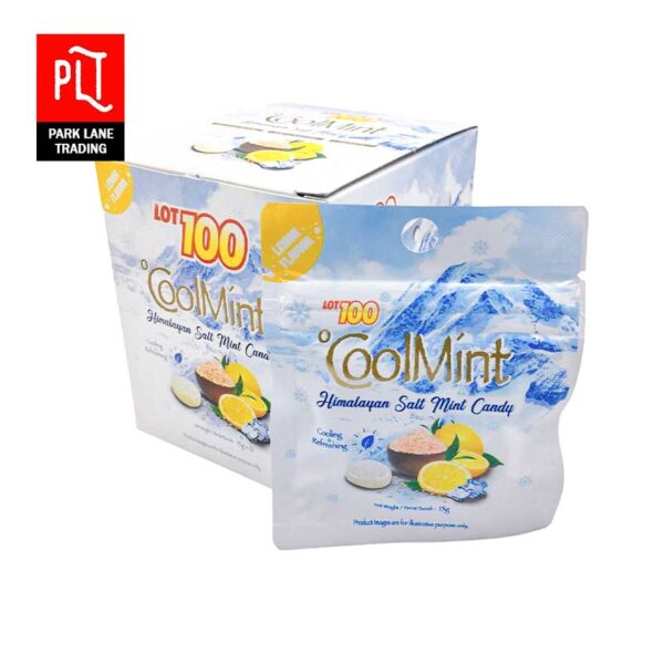 Lot-100-Himalayan-Salt-Mint-Candy-15g-Cool-Mint
