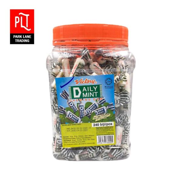 Victory-Daily-Mint-Chewing-Gum-Jar-240s