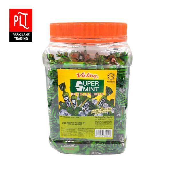 Victory-Super-Mint-Chewing-Gum-Jar-240s