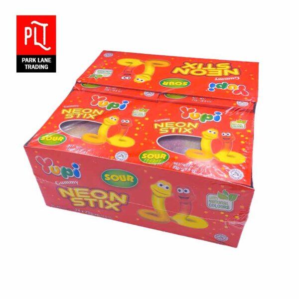 Yupi-Gummy-Neon-Stix-23g